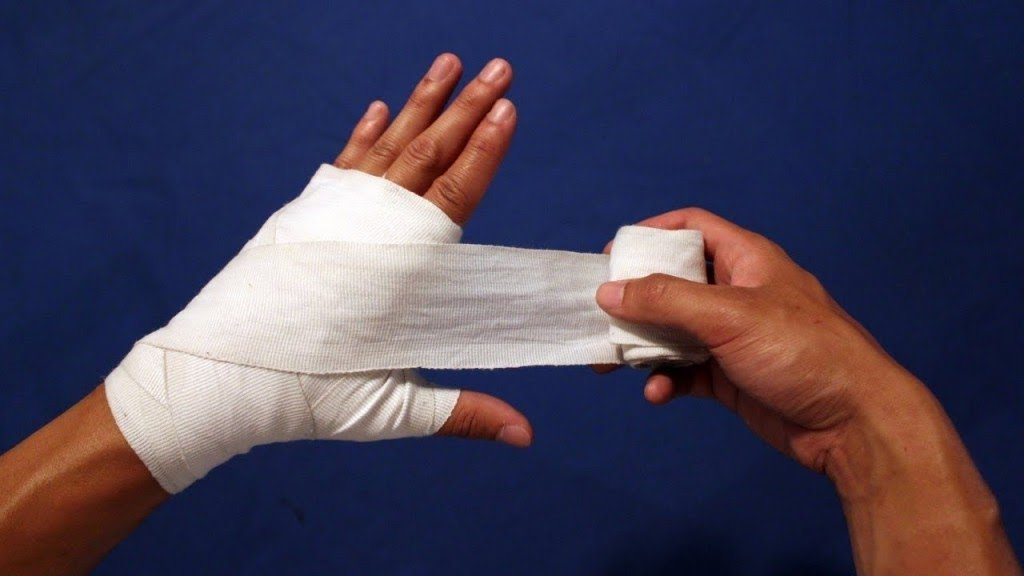 how to wash muay thai hand wraps